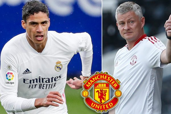 Manchester United have entered the final stages for Raphael